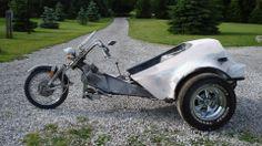 My current project, VW Trike 1600 cc VW BUS engine, 4 speed stick