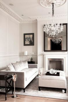 Get This Look Designer Living Room Living Room White