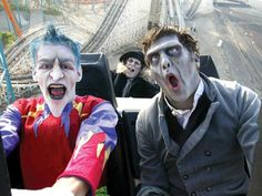 Theme parks go haunted for Halloween. See Travel Channel's list of places to get your fright on, including Six Flags' Fright Fest, Halloween Haunt at Knotts Scary Farm and Halloween Horror Nights at Universal Studios Orlando.