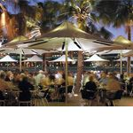 Heated Umbrella Product Range - Alfresco Heating and Outdoor Patio Solutions