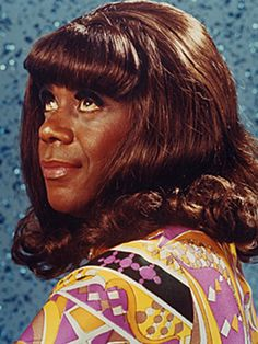 """Flip Wilson as """"Geraldine Jones"""" on """"The Flip Wilson Show"""" (1970-1974) NBC – Wilson was one of the first African Americans to star in the title role in an American TV series."""