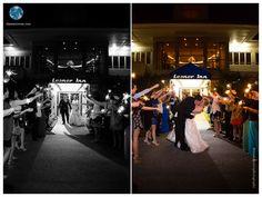 Lesner Inn Wedding | Blue Green Seashore Wedding | Sparkles Exit | Virginia Beach Wedding | Daissy Torres Photography