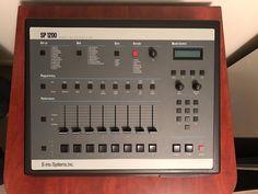 MATRIXSYNTH: Emu SP1200 Vintage Sampler + Massive Disk Sample L...