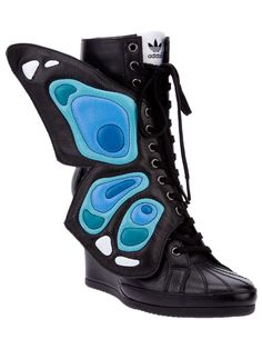 the latest c5f7d 37f90 ADIDAS ORIGINALS BY JEREMY SCOTT  Wings Wedge  sneaker Wing Shoes, Lace Up  Shoes
