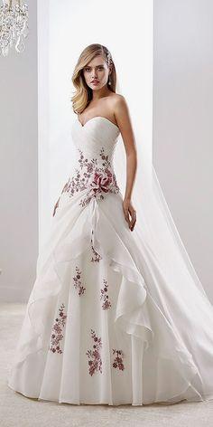 dd91b52b3f Las 75 mejores imágenes de vestidos de novia en 2019