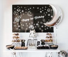 Kids parties can often cause a brain freeze, with hours and hours spent upon thinking about a unique theme, so to help, LENZO are always on the lookout for fresh ideas to inspire you lovelies. That is why we are loving this trip to another planet with Joy & Co. Events' modern take on the classic Space Party theme. The event was to celebrate Tom's 3rd birthday, with the Joy & Co. Events team | Continue Reading