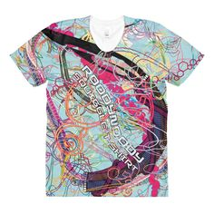 Squiggle t-shirt PL301 – front