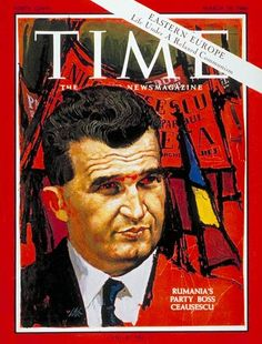 Nicolae Ceausescu Copyright Time Magazine - Mad Men Art: The Vintage Advertisement Art Collection Vintage Travel Posters, Vintage Ads, Vintage Magazines, Time Magazine, Magazine Covers, Romanian Revolution, In Soviet Russia, Socialist State, Central And Eastern Europe