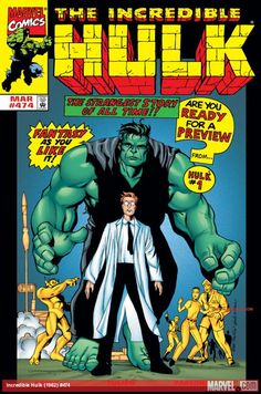 Browse the Marvel Comics issue Incredible Hulk Learn where to read it, and check out the comic's cover art, variants, writers, & more! Hulk Marvel, Marvel Comics Superheroes, Marvel Characters, Comic Book Covers, Comic Books Art, Comic Art, Giant Monster Movies, Hulk Movie, Famous Cartoons