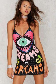 DI$COUNT UNIVER$E DREAM$ 'N' $CREAM$ Mini Dress