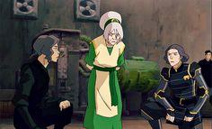 Toph, Lin, & Su