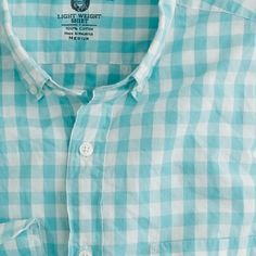 Gingham...my fav is turquoise and white.  Clean and happy