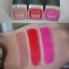 Maybelline Color Sensational Creamy Matte Lipsticks - Review & Swatches!
