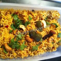 Brinjal Rice / Vangi Bath