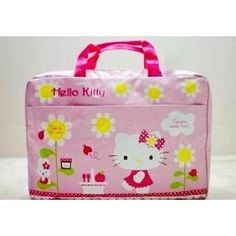 15 inch Pink Hello Kitty Style Laptop Case/Bag(With Handles) Review