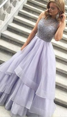 2017 Prom Dresses, Sparkly Prom Dresses,Long Prom Dresses,Lavender Prom Dresses,Beaded Prom Dresses For Teens,Handmade Prom Dresses,Pretty Prom Gowns,Modest Party Dresses,Evening Dresses