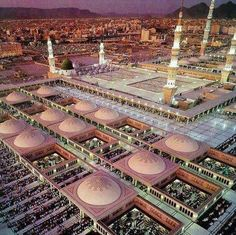 [♥] BEAUTIFUL VIEW OF MASJID-E-NABAWI [♥]