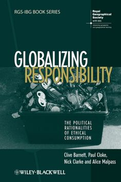 This book develops a theoretically informed new approach to shape our understanding of the pragmatic nature of ethical action in consumption processes.  Provides empirical research on everyday consumers, social networks, and campaigns. Fills a gap in research on the topic with its distinctive focus on fair trade consumption. Locates ethical consumption within a range of social theoretical debates -on neoliberalism, governmentality, and globalisation.