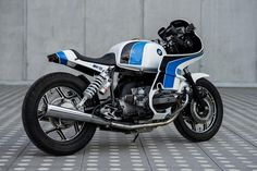 Luka Cimolini's fantastic R100 RS. Fully-faired 80s perfection — from any angle.