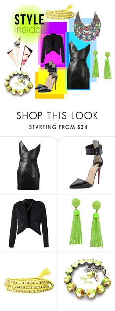 """""""me"""" by mimmiandkinkistatementjewelry ❤ liked on Polyvore featuring Yves Saint Laurent, Christian Louboutin and Humble Chic"""