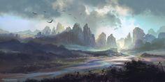 River Mountain by FerdinandLadera.deviantart.com on @deviantART