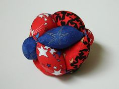 Bright Colors Star Baby Ball Clutch Ball  Amish by lynnedowns, $15.00