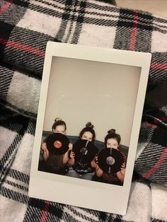 polaroids with friends