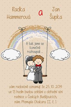 Soptula / Svatební oznámení S47 Save The Date, Folk, Wedding Day, Wedding Inspiration, Relationship, Invitations, Cool Stuff, Comics, Weddings