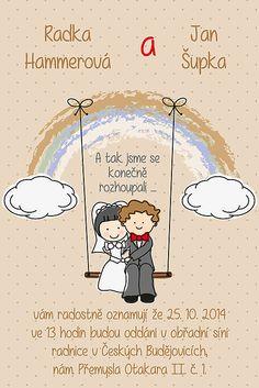 Soptula / Svatební oznámení S47