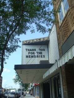 Fridley Spencer 3 movie theatre in Spencer, Iowa. I'll forever miss this place! And cherish all the memories :)