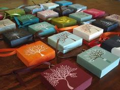 would be cool to make these mini paintings as christmas tree ornaments, just different pictures.