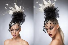 Julia | Fashion at the Races, Hat, Fascinator, Millinery, Kentucky Derby