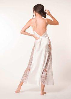 Davina Gown — Christine | Silk Lingerie, Sleepwear & Loungewear