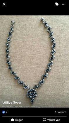 Best 12 leyla new guzelll – SkillOfKing. Diy Jewelry, Jewelry Accessories, Jewelry Necklaces, Jewelry Design, Jewelry Making, Fairy Ring, Beaded Necklace Patterns, Beading Tutorials, Artisanal