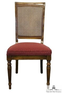 ETHAN ALLEN Classic Manor Cane Back Side Chair...I Have Six With Avocado