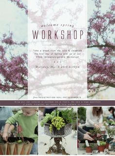 Take a break from the cold and celebrate the first day of Spring with us at our FREE Miniature Garden Workshop! Click the image above to register online or call 419.865.6566