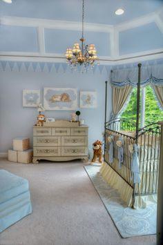 Babyblau - das Schicke Kinderzimmer für das Babyboy