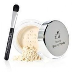 e.l.f. Mineral Blemish Kit. Sweep it on your nose to get rid of blackheads!