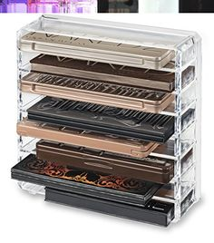 Acrylic Palette Organizer (Standard Size) & Beauty Care Holder Provides 8+ Space Storage | byAlegory (Clear) byAlegory Premium Beauty Organization http://www.amazon.com/dp/B015IHU77U/ref=cm_sw_r_pi_dp_FtqCwb0C6JYZ9