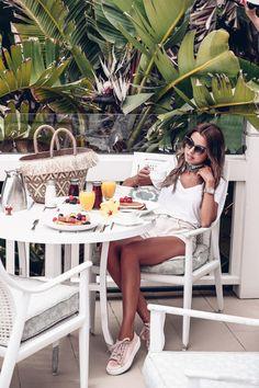 Breakfast at Hotel del Coronado Villas