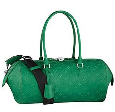 Lord....I wish I had Oprah's money so I could get this 'money green' Louis Vuitton Monogram Speedy Round $4999.99!!
