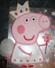 Peppa Pig By DUX1977 on CakeCentral.com-for Gianna's 2nd birthday??