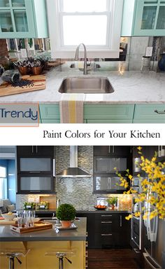 Trendy Paint Colors for Your Kitchen