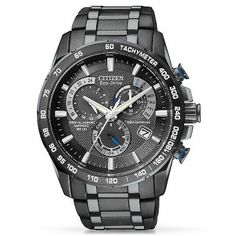 Citizen� Eco-Drive� Men's Stainless Steel Watch available at #HelzbergDiamonds