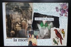 Collage - papier Copyright Emilie.A