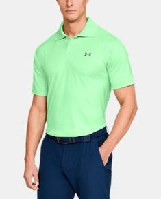 Best Seller Men s UA Performance Polo 9 Colors Available  54.99  golf   golfgear  golfmusthaves  Afflink acd1fff643a58