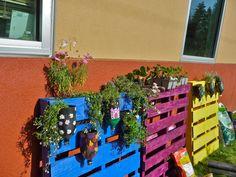the harmony garden: vertical gardening...