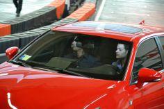 Backstage della puntata del nuovo travel game show Destinazione Sconosciuta andata in onda il 17/05/14 su Sky Uno e CieloTv. Protagonisti l'ex pilota di Formula 1 Jarno Trulli e bordo di una Lexus CT Hybrid.  #destinazionesconosciuta #jarnotrulli #sky #cielotv #topfuelracing #gokart