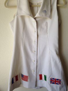 Virginia Slims, Billie Jean King, Tennis Dress, Other Woman, Amazing Women, Chef Jackets, Suits, Coat, Collection