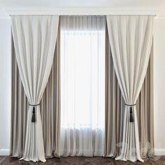 45 Ideas For Kitchen Window Shutters Diy Curtains Farmhouse Window Treatments, Modern Window Treatments, Bathroom Window Treatments, Bedroom Curtains With Blinds, Modern Curtains, Diy Curtains, Modern Blinds, Rideaux Design, Classic Curtains